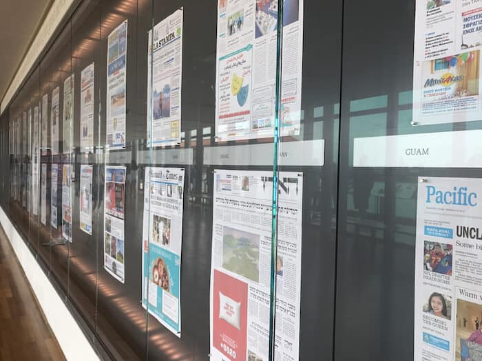 Newseum Daily Front Pages