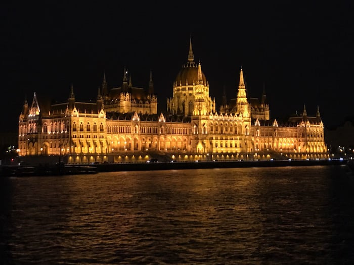 Hungarian Parliament Buildings in Budapest