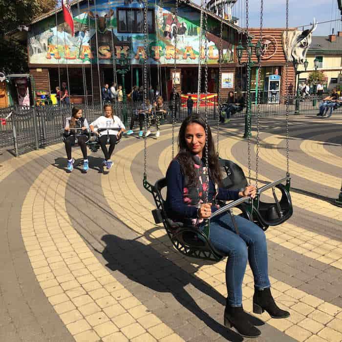 Shivani at Prater Park, Vienna, Austria