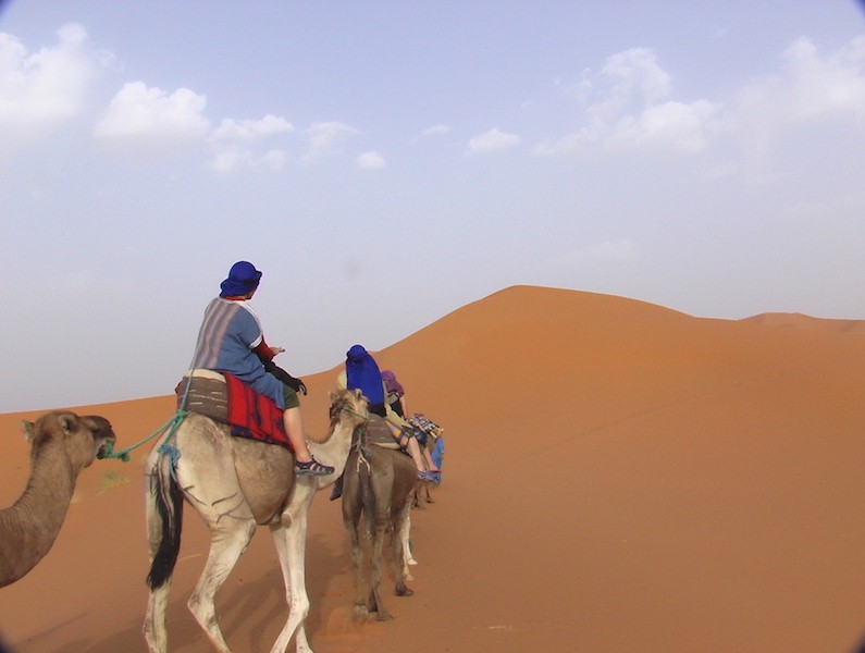 Sahara Dunes Female Travel Bloggers