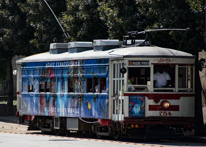 get around the top attractions in Dallas on the trolley