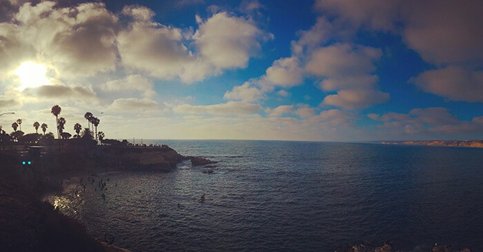 things to do in San Diego, La Jolla Cove