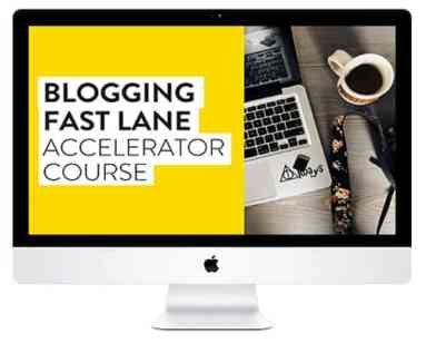 Adventure in You Blogging Fast Lane Course