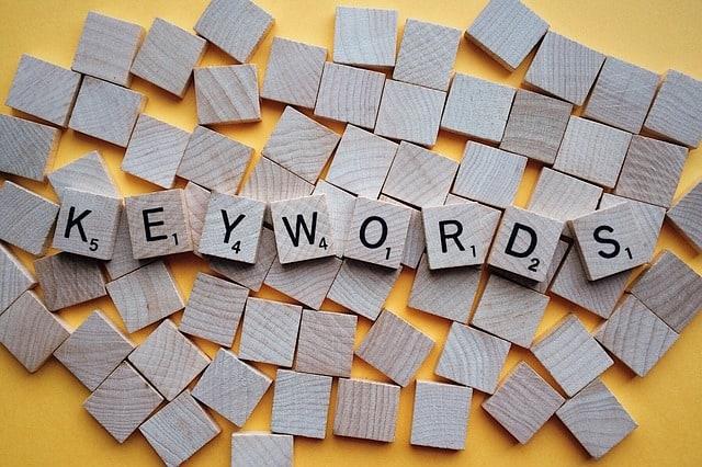 SEO Mistake wrong keywords