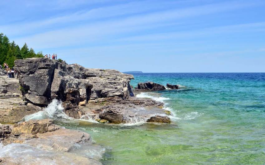 Bruce-Peninsula-National-Park-Waterfront