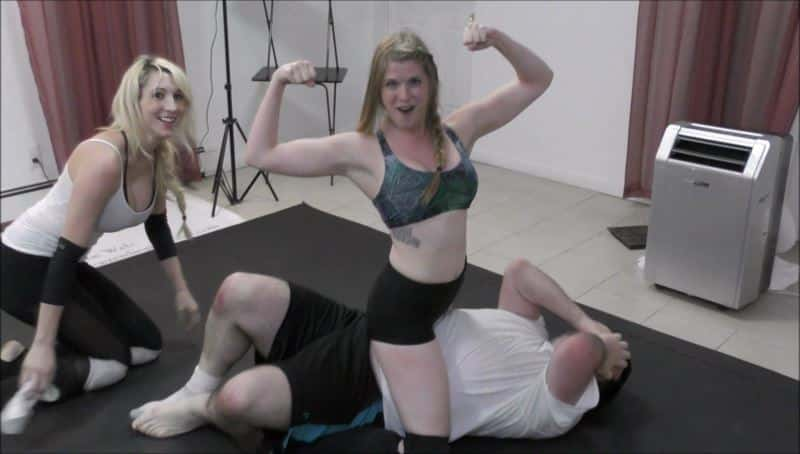 MIXED WRESTLING:  Would you like to Wrestle one of the Ladies of the Female Wrestling Channel?