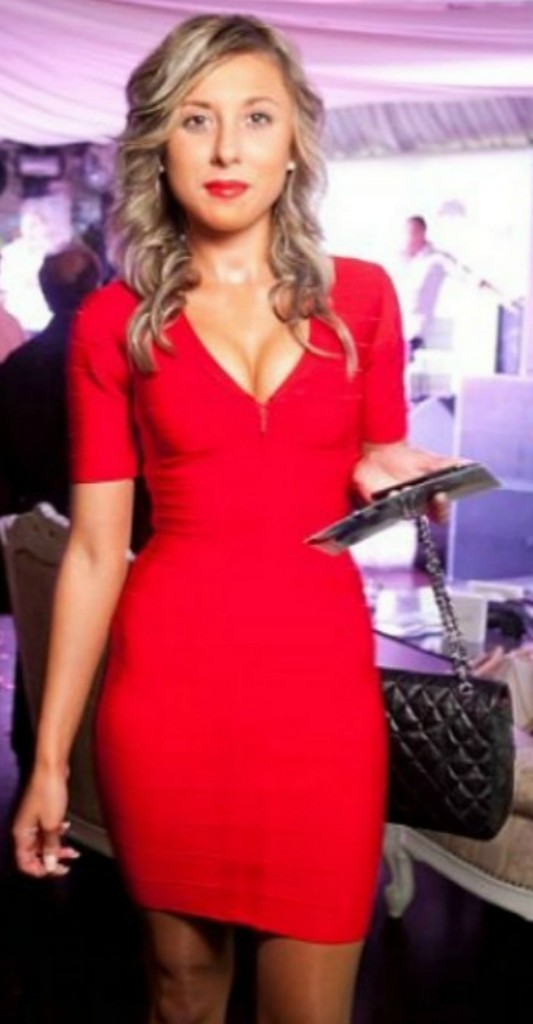 Krissy red dress