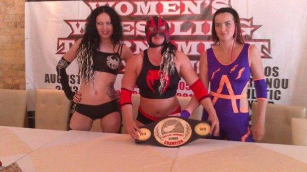 fciwomenswrestling.com article, karina-wrestler.com photo