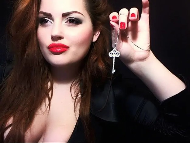 chastity key - slave locked away