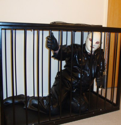 femdom cams, slave in cage