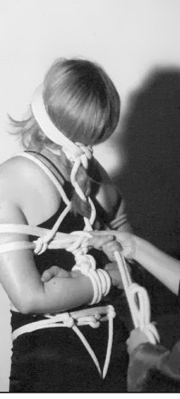 girl in rope bondage picture