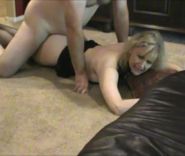 Fucked His Wifes Hairy Little Pussy All Over The Living Room Floor Xxx Femefun