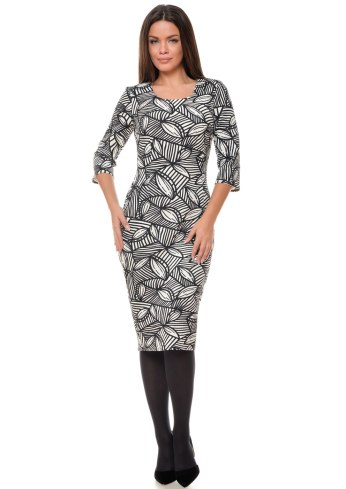 rochie-conica-alb-negru-cu-imprimeu-grafic-r111i982-fata-992x1404