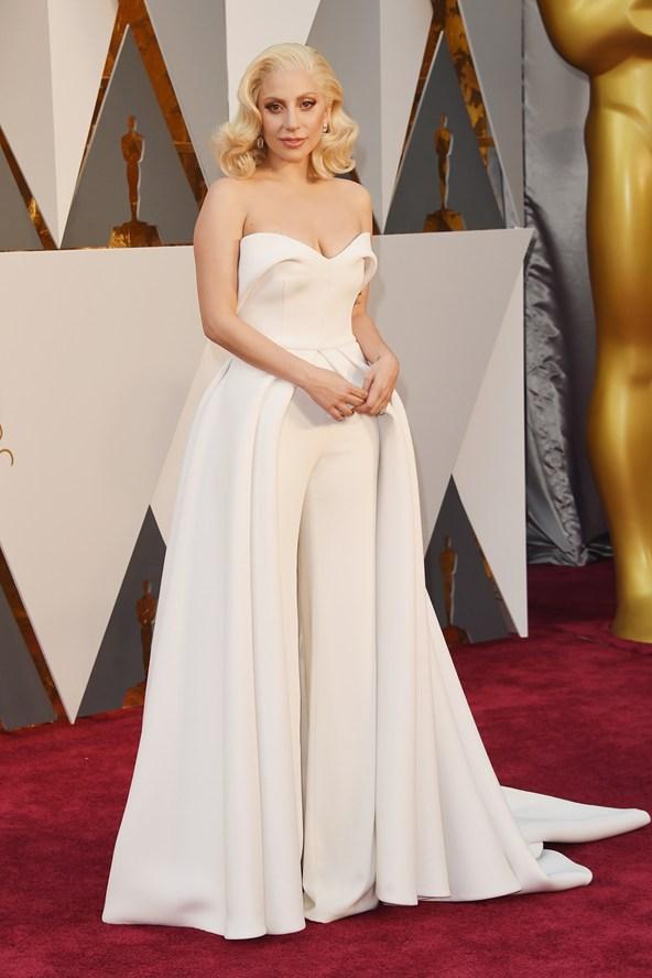 Lady-Gaga-Brandon Maxwell-Oscars-2016