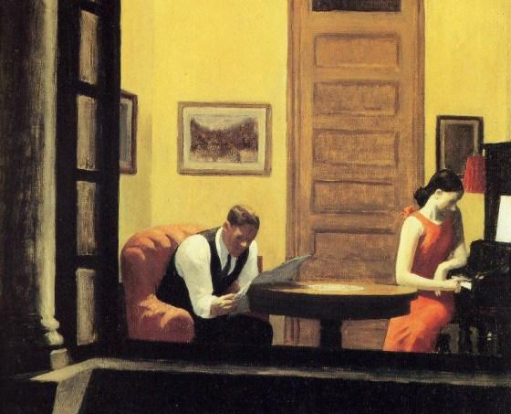 """""""Habitación en Nueva York"""" (1932). Edwuard Hopper"""