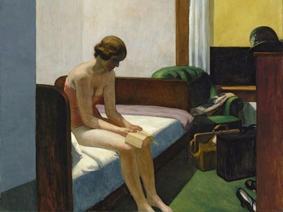Habitación de hotel, 1931. Edward Hopper