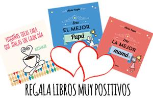 Regalos muy positivos de la autora  Alicia Yagüe