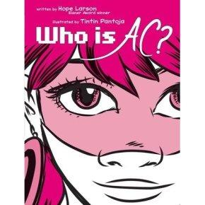 Cover des Comics. Nahaufnahme eines Mädchens mit rosa Haaren, das selbstbewusst schaut