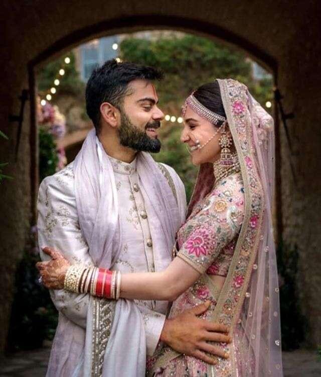 Anushka Sharma And Virat Kohli S Latest Wedding Photos Femina In