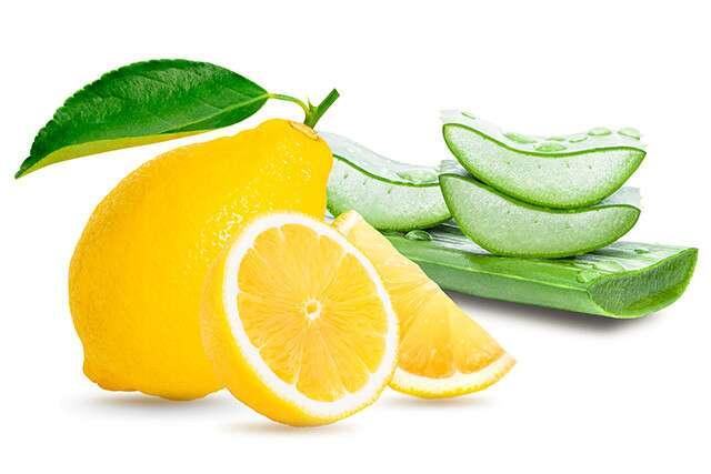Aloe Vera and Lemons Hair Mask