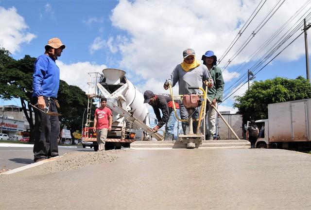 Taguatinga recebe calçadas reformadas e novos passeios públicos