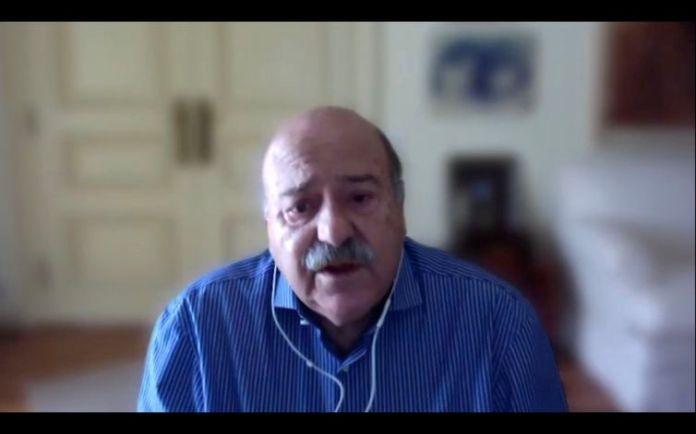 Carlos Alberto Simas Magalhães, embaixador do Brasil em Lisboa.