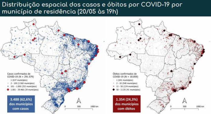 Covid-19 nos municípios brasileiros
