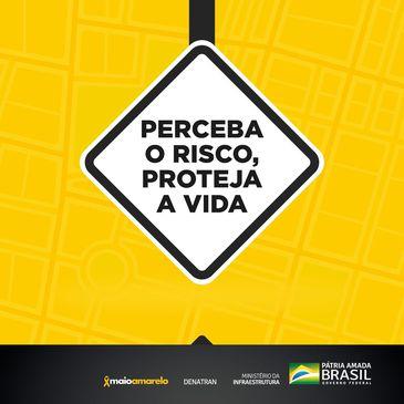 Ministério da Infraestrutura promove Maio Amarelo Digital  Campanha de conscientização sobre responsabilidade no trânsito terá como público-alvo profissionais que prestam serviços essenciais para o Brasil