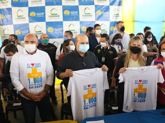 GDF regulariza mais de 5 mil moradias