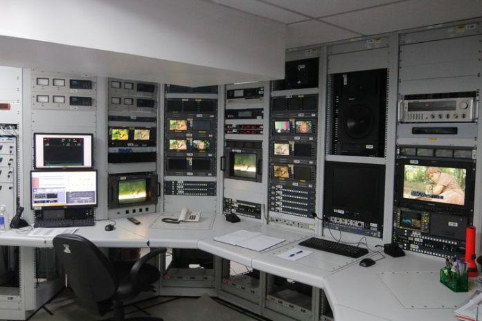 O diretor-presidente da Empresa Brasil de Comunicação (EBC), Glen Lopes Valente e comitiva conhecem o novo transmissor da TV Brasil, no Sumaré.