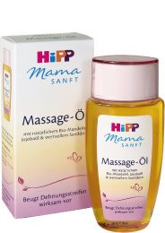 Hipp Mamasanft Zupf-Massage-Öl gegen Schwangerschaftsstreifen