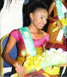 Chidinma Okeke when she won the pageant