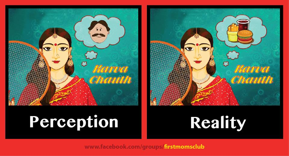 Karva Chauth: Expectation Vs Reality