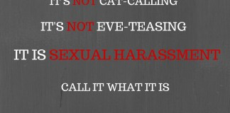 Can We Stop Calling It 'Eve-Teasing'?
