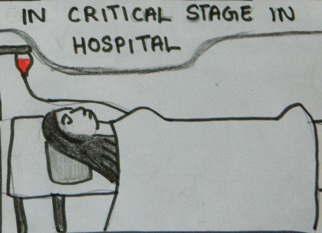 in hospital 16 december 2012