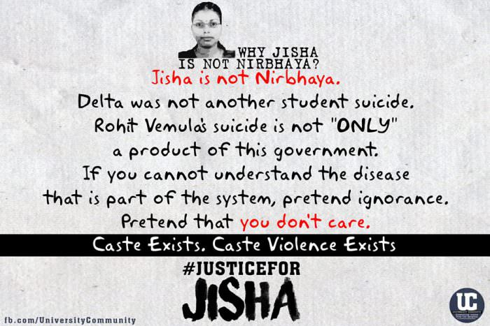 #JusticeForJisha: Dalit Woman Brutally Raped and Murdered in Kerala
