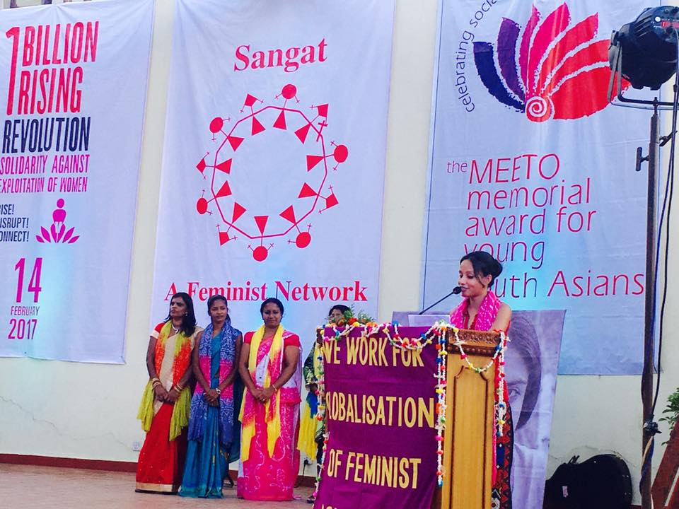 The South Asia One Billion Rising 2017 Launched In Nepal