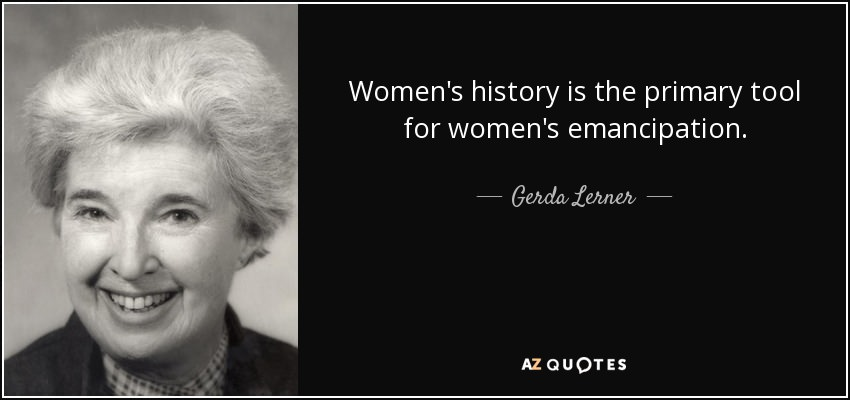 Book Review: 'The Creation Of Patriarchy' By Historian Gerda Lerner