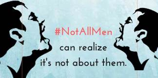 Dear Men, You Win. #NotAllMen