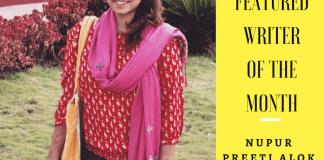 FII Featured Writer Of The Month: Nupur Preeti Alok