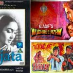 Bollywood Movie Posters from the 60s and 70s - Sujata, Sholay and Mughal-e-Azam