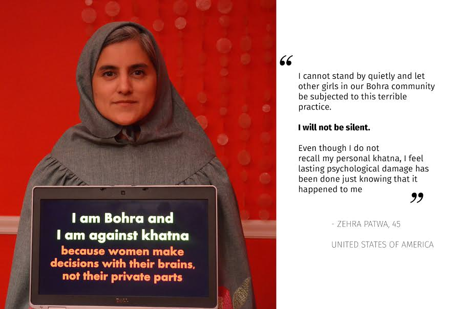A Bohra Woman Speaking Against FGM/C