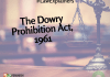 The Dowry Prohibition Act, 1961 | #LawExplainers