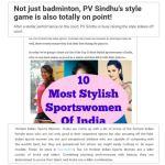 media representation of sportswomen
