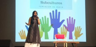 Asmita Ghosh at the Woman Up Summit