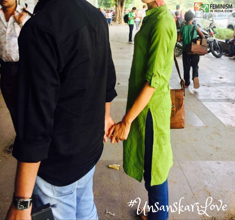 I am Hindu and my boyfriend is Muslim and this is our #UnsanskariLove story