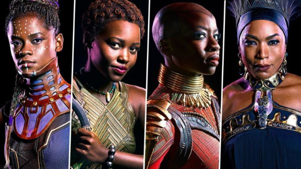 Image result for WOMEN IN BLACK PANTHER