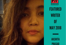 Meet Akshita Prasad – FII's Featured Writer Of May 2018
