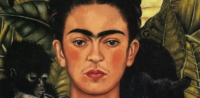 Self-Portrait with Hummingbird – Frida Kahlo
