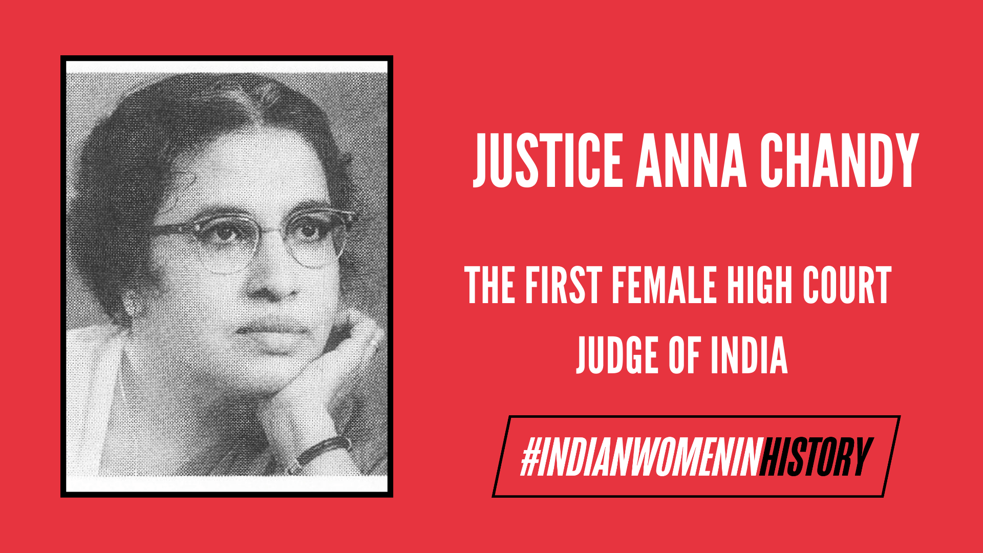 Justice Anna Chandy: The First Female High Court Judge Of India   #IndianWomenInHistory